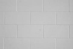 Una pared del cinderblock Imágenes de archivo libres de regalías