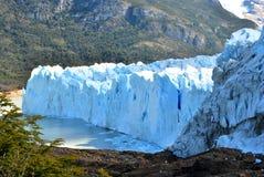 Una parete del ghiaccio Fotografie Stock