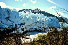 Una parete del ghiaccio Immagini Stock Libere da Diritti