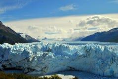 Una parete del ghiaccio Fotografia Stock Libera da Diritti
