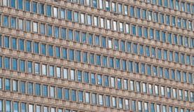 Una parete dell'edificio per uffici Fotografie Stock