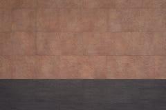 Una parete delle mattonelle di pietra con il dettaglio fine sulla superficie e sulla struttura approssimativa Fotografia Stock Libera da Diritti