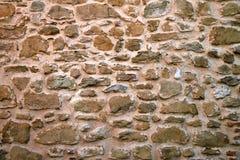 Una parete di pietra Fotografia Stock