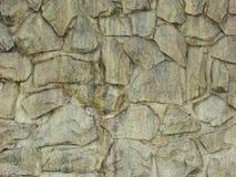 Una parete di pietra Fotografie Stock