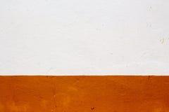 una parete di 2 toni Fotografia Stock Libera da Diritti