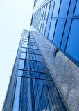 Una parete di vetro Fotografie Stock Libere da Diritti