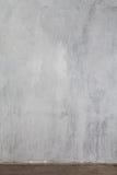 Una parete grigia strutturata Fotografia Stock Libera da Diritti