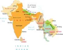 Una parte de Asia. Imagenes de archivo