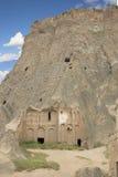Una parte de la catedral de Selime, provincia de Aksaray, Turquía Imagen de archivo libre de regalías