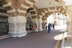 Una parte de la señal famosa de Sultan Abdul Samad Building en Kuala Lumpur Fotografía de archivo