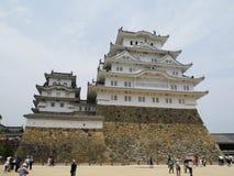 Una parte del castillo de Himeji Imagenes de archivo