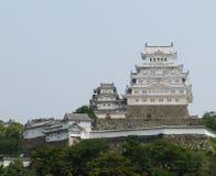 Una parte del castillo de Himeji Imágenes de archivo libres de regalías