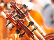 Una parte del violoncello Fotografia Stock