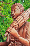 Una parte della statua di Buddha Fotografie Stock