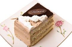 Una parte della torta. Fotografie Stock Libere da Diritti