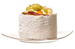 Una parte della torta. Fotografia Stock