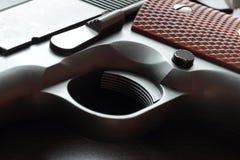 Una parte di .45 rivoltelle di calibro. Fotografia Stock