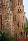 Una parte di Sagrada Familia Fotografia Stock