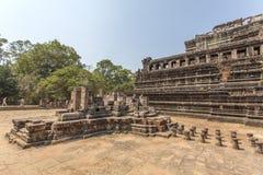 Una parte en el patio del templo de Phuon de los vagos, Angkor Thom, Siem Reap, Camboya Imágenes de archivo libres de regalías