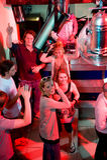 Una parte en un club nocturno Fotografía de archivo libre de regalías