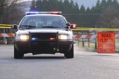 Incidente della polizia Immagini Stock