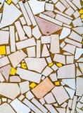 Una pavimentazione fatta dalle mattonelle irregolari Immagini Stock Libere da Diritti