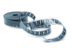 una pellicola in bianco e nero da 35 millimetri Immagini Stock