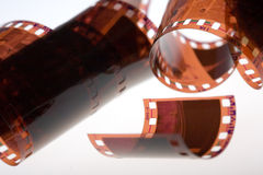 una pellicola da 35 millimetri Fotografia Stock