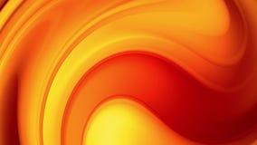 Una pendenza gialla rossa dei cambiamenti luminosi di un colore del fuoco lentamente e periodicamente animazione astratta avvolta royalty illustrazione gratis