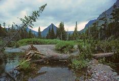 Una pequeña cala de la montaña fotografía de archivo libre de regalías