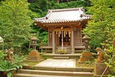 Una pequeña capilla en Japón imagen de archivo
