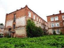 Una pequeña ciudad provincial rusa del Gus-cristal Imágenes de archivo libres de regalías