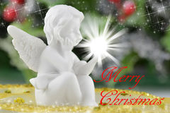 Una pequeña figura del ángel Imagen de archivo libre de regalías