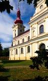 Una pequeña iglesia de la aldea Imagen de archivo