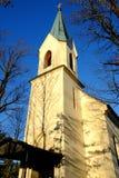Una pequeña iglesia en el interior en Baviera superior fotos de archivo
