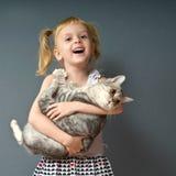 Una pequeña muchacha rara Imagenes de archivo