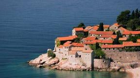 Una pequeña península Imágenes de archivo libres de regalías