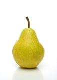 Una pera amarilla Imagenes de archivo