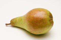 Una pera rosso-verde Fotografie Stock Libere da Diritti