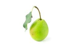 Una pera verde Fotos de archivo libres de regalías