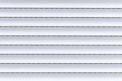 Una persiana blanca imágenes de archivo libres de regalías