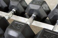 Una pesa de gimnasia Fotografía de archivo libre de regalías