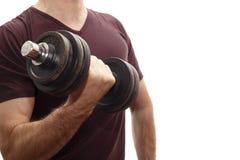 Una pesa de gimnasia Foto de archivo libre de regalías
