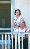 Una più vecchia coppia felice immagini stock libere da diritti