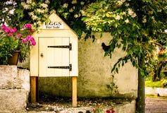 Una piccola capanna dell'uovo Fotografia Stock Libera da Diritti