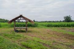Una piccola capanna nell'azienda agricola Immagini Stock Libere da Diritti