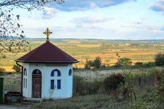 Una piccola cappella fotografie stock