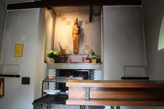 Una piccola cappella Immagini Stock