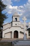 Piccola chiesa, Hermita, in Ojojona, l'Honduras. Fotografia Stock Libera da Diritti