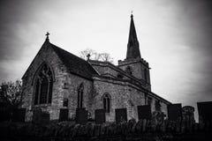 Una piccola chiesa del villaggio Immagini Stock